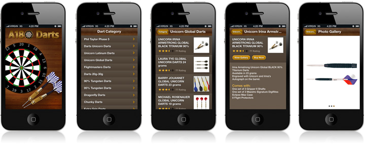 iphone website apps