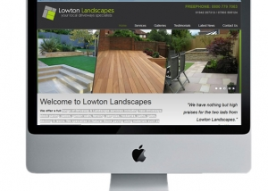 landscapes website design