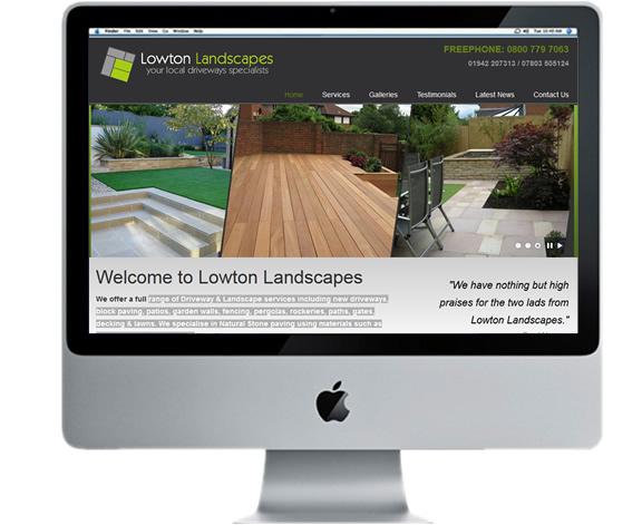 landscapes website design
