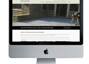 imprinting concrete driveways