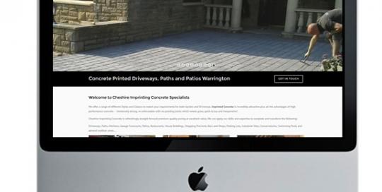 imprinting concrete driveways