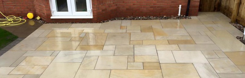 cheshire sandstone paving